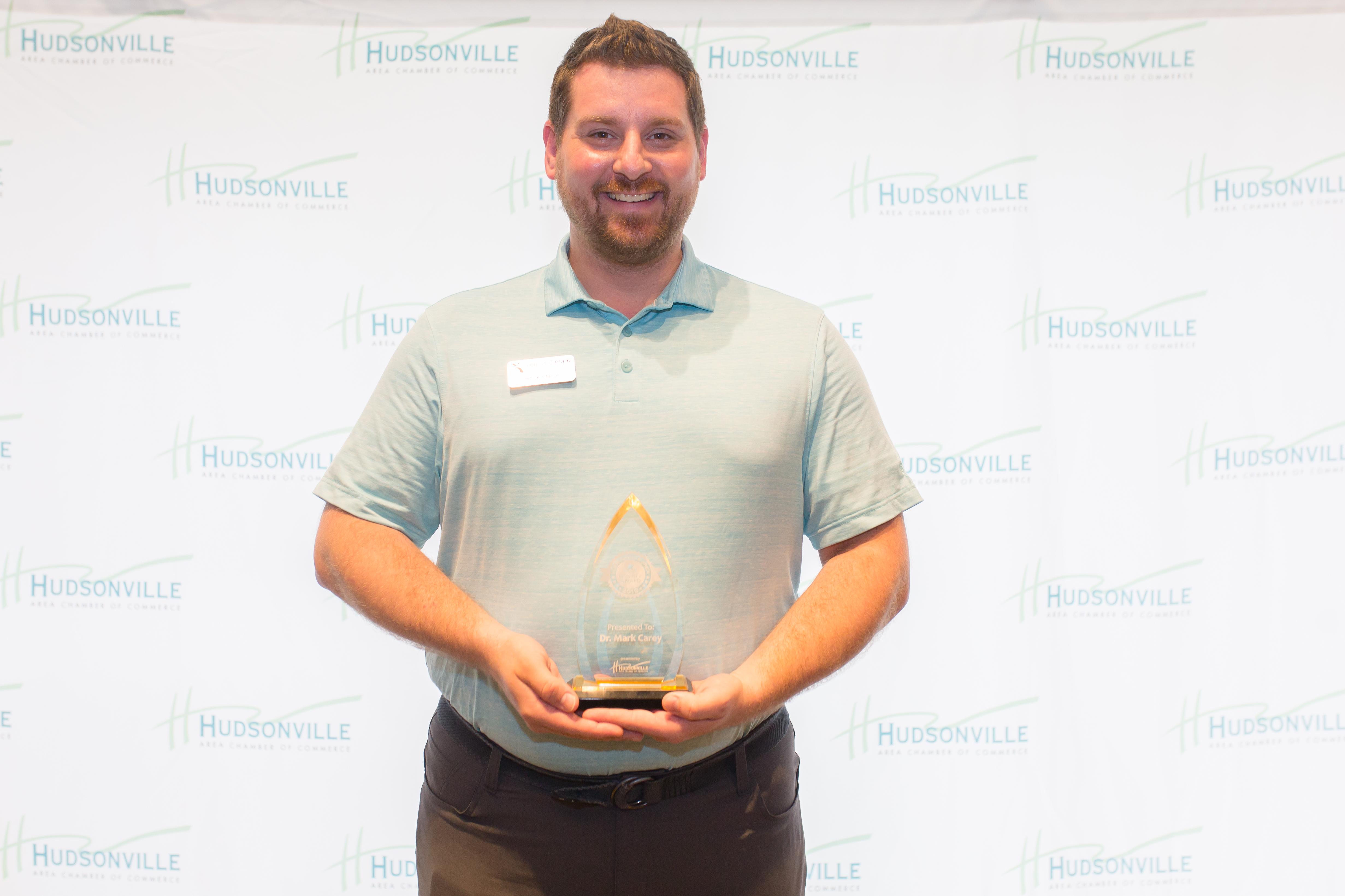 Hudsonville Area Leadership Award 2019 - Dr. Mark Carey